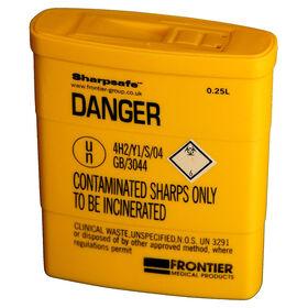 Sterex Sharps Box 0.25l