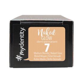 #mydentity Naked Glow 7 Demi-Permanent Hair Colour 58g