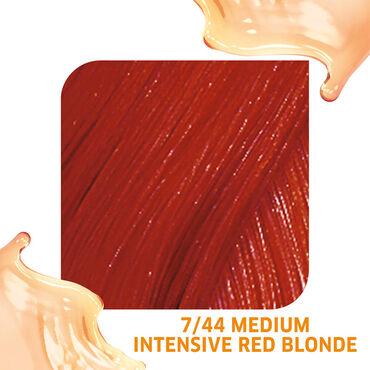 Wella Professionals Colour Fresh Semi Permanent Hair Colour - 7/44 Medium Intensive Red Blonde 75ml
