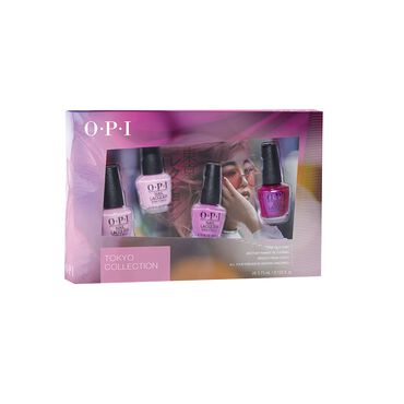 OPI Tokyo Collection Nail Lacquer 4pc Mini Pack 4 x 3.75ml