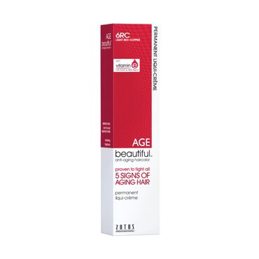 AGEbeautiful Permanent Hair Colour - 6RC Light Red Copper 60ml