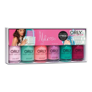 Orly Nail Lacquer Melrose Spring 2016 Collection 6 Piece Kit