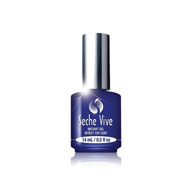 Seche Vite Vive Nail Treatment Instant Gel Effect Top Coat 14ml