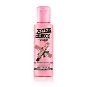 Crazy Color Semi Permanent Hair Colour Cream - Rose Gold 100ml