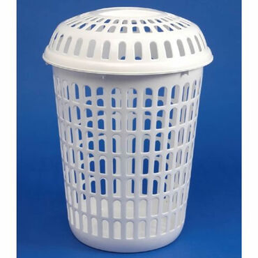 Beauty Express Round Laundry Basket