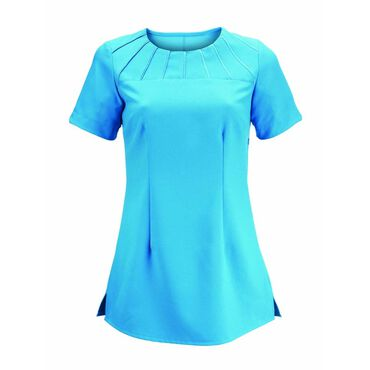 * Alexandra Women's Satin Trim Tunic - Peacock