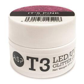 ASP T3 LED UV Gel - It's Pink 3.5 g