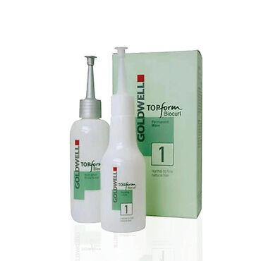 Goldwell Topform Biocurl Permanent No.1, Pack of 3