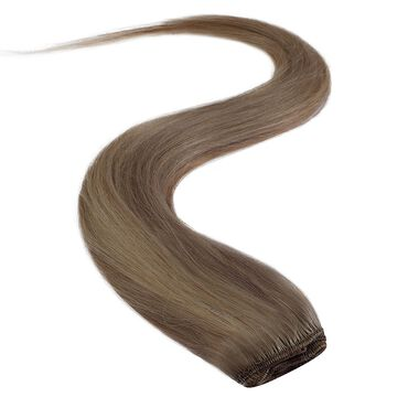 Wildest Dreams Clip In Full Head Human Hair Extension 18 Inch - 18/22 Medium Blonde