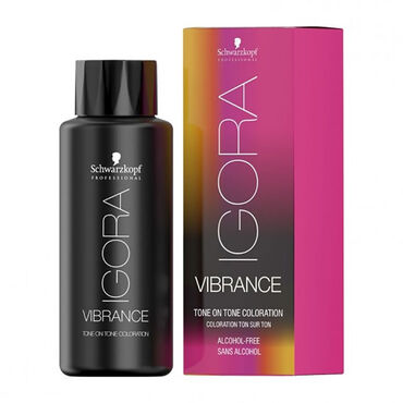 Schwarzkopf Professional Igora Vibrance Semi Permanent Hair Colour - Cendre Toner 9,5-1 60ml