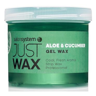 Just Wax Aloe Vera and Cucumber Gel Wax 450g