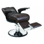 S-PRO Hampstead Barber's Chair Chocolate Brown