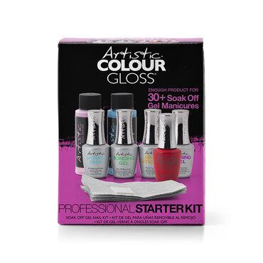 Artistic Nail Design Artistic Colour Gloss Professional Starter Kit, Kit