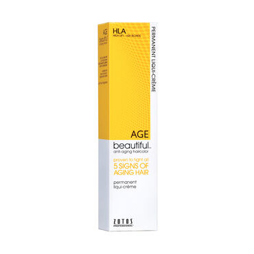 AGEbeautiful Permanent Hair Colour - HLA High Lift Ash Blonde 60ml