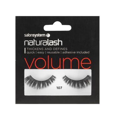 Salon System Naturalash Strip Lashes Volume 107