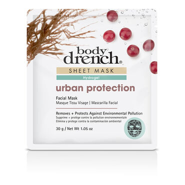 Body Drench Hydrogel Urban Protection Sheet Facial Mask 30g
