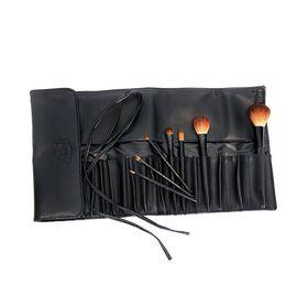 Royal & Langnickel Silk Pro Pocket Brush Wrap 20 Piece Black 235mm x 115mm x15mm