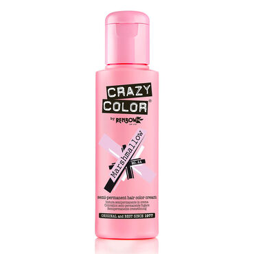 Crazy Color Semi Permanent Hair Colour Cream - Marshmallow 100ml