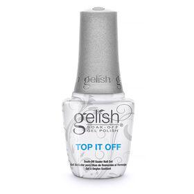 Gelish Soak-Off Gel Polish Top It Off Sealer Gel 15ml