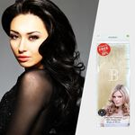 Balmain Human Hair Fill-In Extensions Value 50 Pack 40cm - 1B