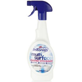 Astonish Multi Spray With Bleach Powder 750ml