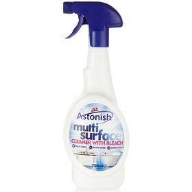 Astonish Multi Spray With Bleach Powder 750ml