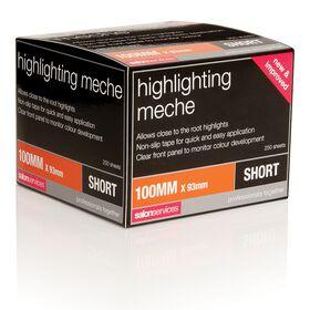 Salon Services Highlighting Meche Short Pack of 250
