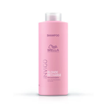 Wella Professionals Invigo Blonde Recharge Cool Blonde Shampoo 1000ml