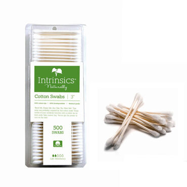 Intrinsics Double-ended Cotton Swabs