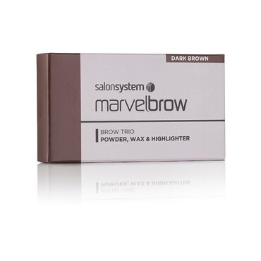 Marvelbrow Brow Trio Dark Brown Dark Brown
