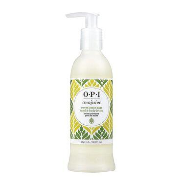 OPI Avojuice Hand and Body Lotion - Sweet Lemon Sage 250ml