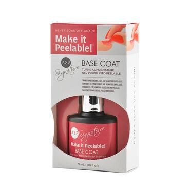 ASP Signature Gel Polish Make it Peelable Base Coat 9ml