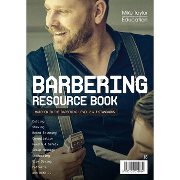 Mike Taylor Education Barbering Resource Book