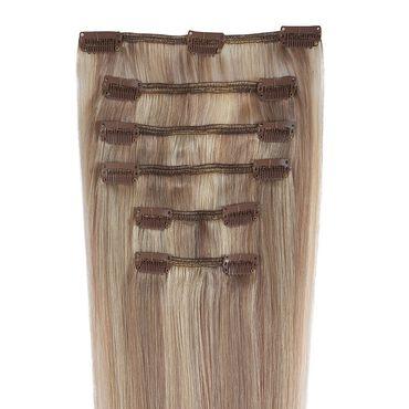 Wildest Dreams Clip In Half Head Human Hair Extension 18 Inch - 18/22 Medium Blonde