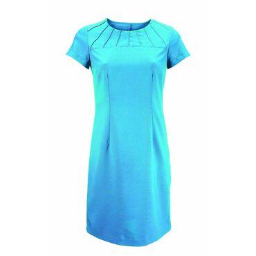 * Alexandra Women's Satin Trim Dress - Peacock