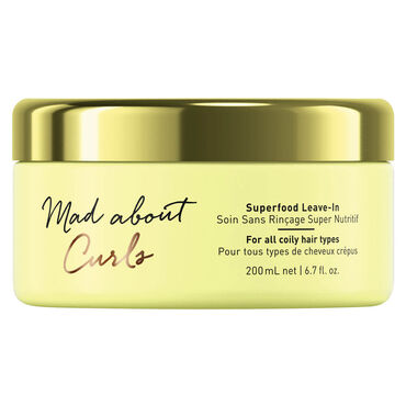 Schwarzkopf Professional Mad About Curls Superfood Leave-In Conditioner, 200ml
