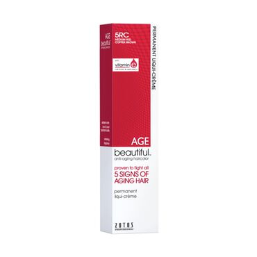 AGEbeautiful Permanent Hair Colour - 5RC Medium Red Copper Brown 60ml