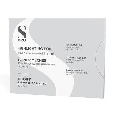 S-PRO Highlighting Foil Strips, Short, Pack of 100