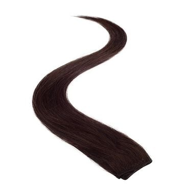 Wildest Dreams Clip In Single Weft Human Hair Extension 18 Inch - 2 Brownest Brown