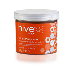 Hive of Beauty Warm Honey Wax 425g