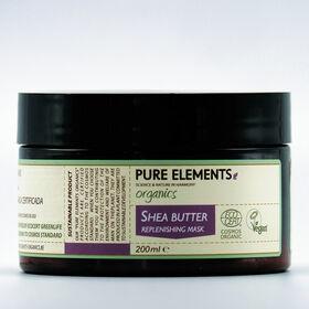 Pure Elements ORGANICS Shea Butter Replenishing Mask 200ml