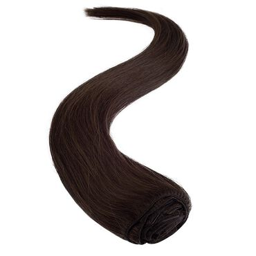 Wildest Dreams Clip In Full Head Human Hair Extension 18 Inch - 3 Chocolate Brown