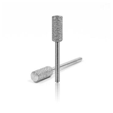 Kupa K-Star DI-32-106 Diamond Nail Drill Bit Small Barrel Course Silver