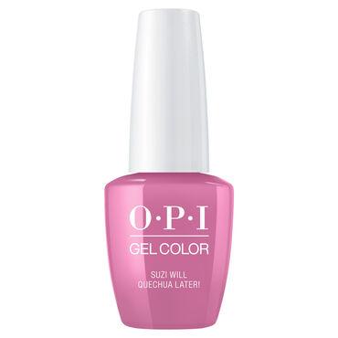 OPI Peru Collection Gel Polish Suzi Will Quechua Later! 15ml
