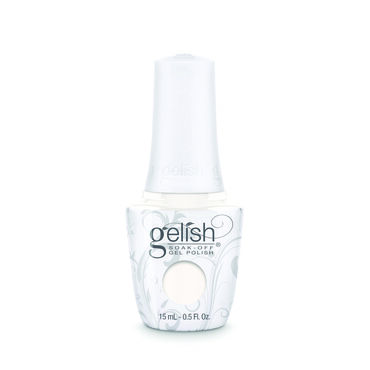 Gelish Soak Off Gel Polish - Sheek White 15ml