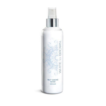 WHITE to BROWN Self Tanning Water (Medium), 250ml