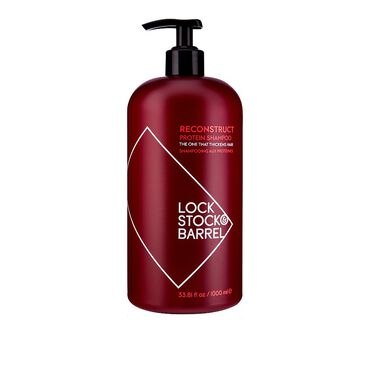 Lock Stock and Barrel Reconstruct Protein Shampoo 1 Litre