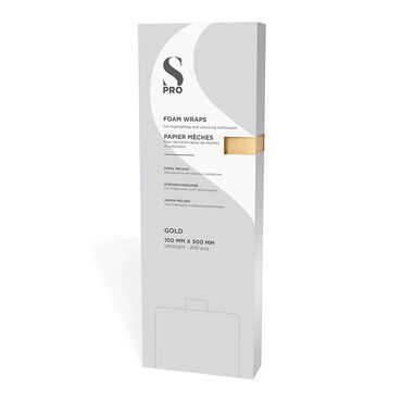 S-PRO Gold Foam Wraps, Pack of 200