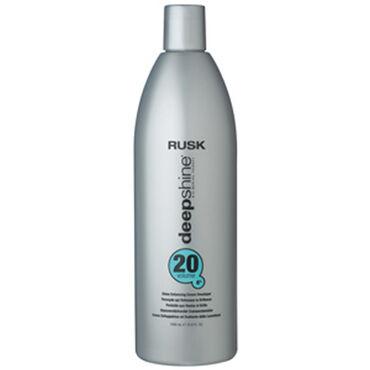Rusk Deepshine Colour Crème Peroxide 6% 20 Vol 1 Litre
