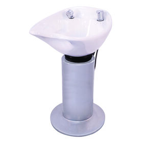 S-PRO Pedestal Wash Unit Silver